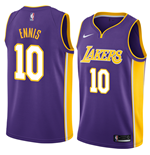 Men's Los Angeles Lakers Tyler Ennis Nike Statement Edition Replica Jersey