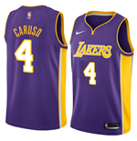 Men's Los Angeles Lakers Alex Caruso Nike Statement Edition Replica Jersey