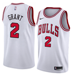 Men's Chicago Bulls Jerian Grant Nike Association Edition Replica Jersey