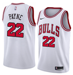 Men's Chicago Bulls Cameron Payne Nike Association Edition Replica Jersey