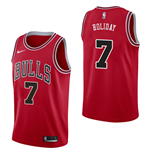 Men's Chicago Bulls Justin Holiday Nike Icon Edition Replica Jersey
