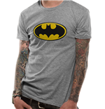 Batman - Logo - Unisex T-shirt Grey