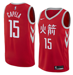 Men's Houston Rockets Clint Capela Nike City Edition Replica Jersey