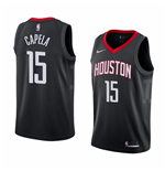 Men's Houston Rockets Clint Capela Nike Statement Edition Replica Jersey