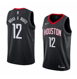 Men's Houston Rockets Luc Mbah A Moute Nike Statement Edition Replica Jersey