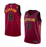 Men's Cleveland Cavaliers Jordan Clarkson Nike Icon Edition Replica Jersey