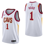 Men's Cleveland Cavaliers Rodney Hood Nike Association Edition Replica Jersey