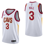 Men's Cleveland Cavaliers George Hill Nike Association Edition Replica Jersey