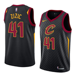 Men's Cleveland Cavaliers Ante Zizic Nike Statement Edition Replica Jersey