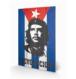 Che Guevara Print on wood 298097