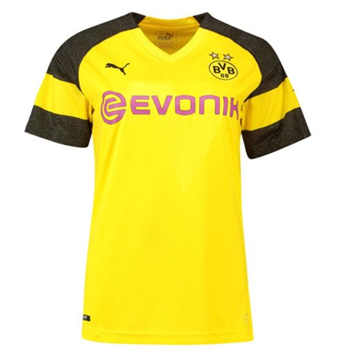2018-2019 Borussia Dortmund Home Ladies Puma Shirt