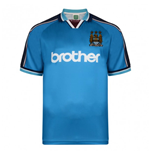 Score Draw Manchester City 1998 Home Shirt