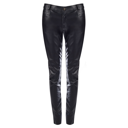 Mode Wichtig Skinny Pants Leatherette