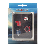 GOD OF WAR Norse Wrath Pin Button Set, Multi-colour