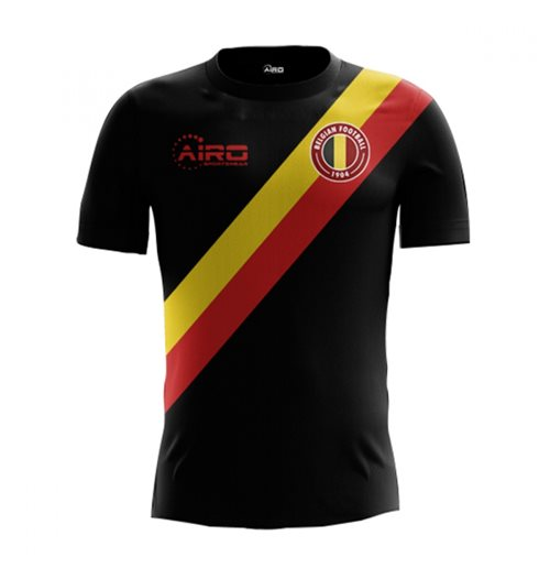 2018-2019 Belgium Third Concept Football Shirt (Kids)