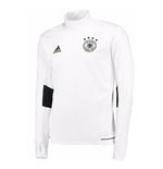 2018-2019 Germany Adidas Warm Up Top (White)