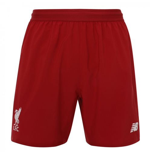 2018-2019 Liverpool Home Shorts (Red)
