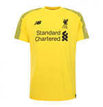 2018-2019 Liverpool Home Short Sleeve Goalkeeper Shirt (Kids)