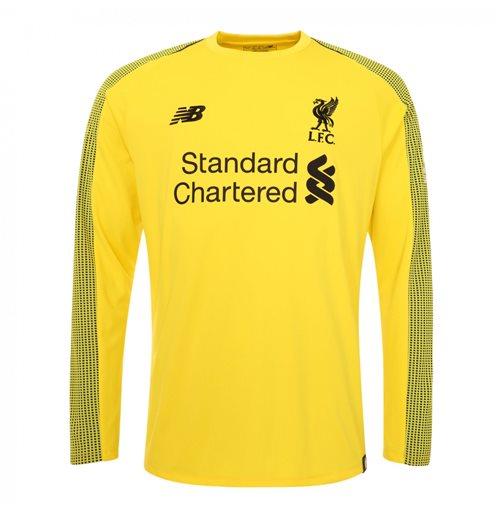 check out 9b1d9 161e2 2018-2019 Liverpool Home Long Sleeve Goalkeeper Shirt (Yellow)