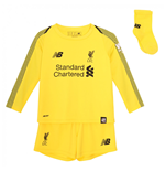 2018-2019 Liverpool Home Goalkeeper Mini Kit