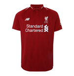 2018-2019 Liverpool Home Football Shirt