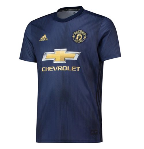 2018-2019 Man Utd Adidas Third Football Shirt