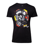 MARVEL COMICS Ant-Man and the Wasp Male Ant-Man Head T-Shirt, Small, Black