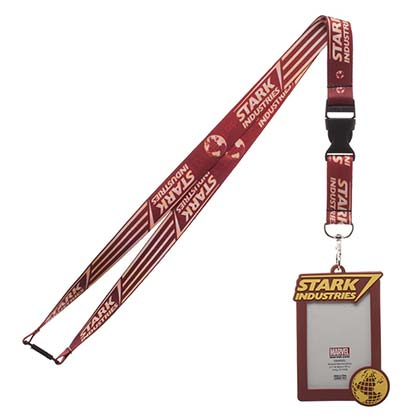 IRON MAN Stark Industries ID Holder Lanyard