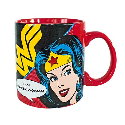 WONDER WOMAN Red 20oz Coffee Mug
