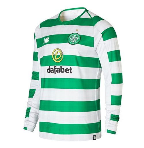 2018-2019 Celtic Home Long Sleeve Shirt