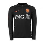 2018-2019 Holland Nike Training Drill Top (Black) - Kids