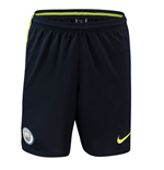 2018-2019 Man City Nike Squad Training Shorts (Obsidian)