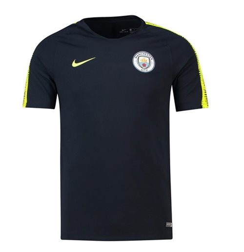 2018-2019 Man City Nike Squad Training Shirt (Navy)