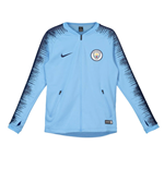 2018-2019 Man City Nike Anthem Jacket (Light Blue) - Kids