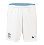 2018-2019 Man City Home Nike Football Shorts (White)