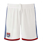 2018-2019 Olympique Lyon Adidas Home Shorts (White)
