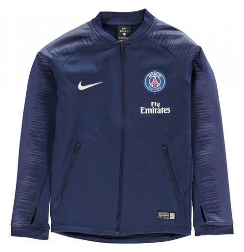 2018 2019 PSG Nike Anthem Jacket (Navy) Kids