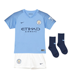 2018-2019 Man City Home Nike Baby Kit