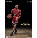 NBA Collection Motion Masterpiece Actionfigur 1/9 Scottie Pippen 23 cm