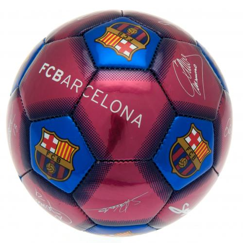 F.C. Barcelona Mini Ball Signature