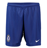 2018-2019 Chelsea Home Nike Football Shorts (Blue)