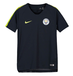 2018-2019 Man City Nike Squad Training Shirt (Obsidian) - Kids
