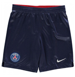 2018-2019 PSG Home Nike Football Shorts (Kids)