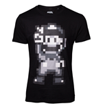 Nintendo - 16-bit Mario Peace Men's T-shirt