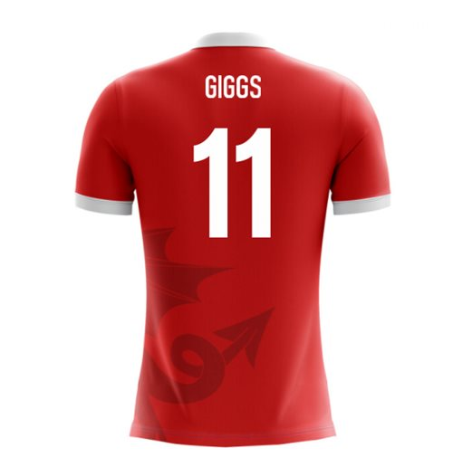 2018-2019 Wales Airo Concept Home Shirt (Giggs 11)
