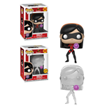 Incredibles 2 POP! Movies Vinyl Figures 9 cm Violet Assortment (6)