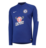 2018-2019 Chelsea Nike Drill Training Top (Blue) - Kids