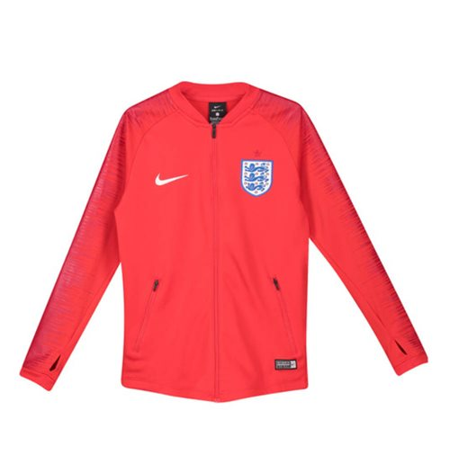 2018-2019 England Nike Anthem Jacket (Red) - Kids