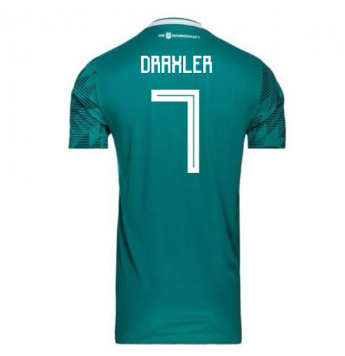 2018-2019 Germany Away Adidas Football Shirt (Draxler 7)