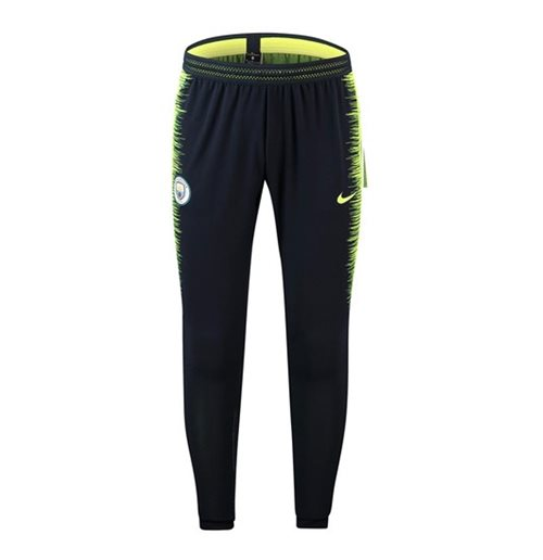 2018-2019 Man City Nike Strike Vaporknit Training Pants (Obsidian)